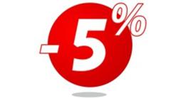 5% Sonderrabatt