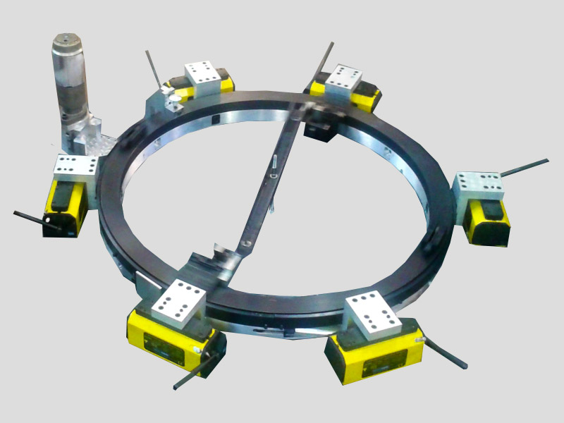 Deck Cutter for pipe cold cutting machine