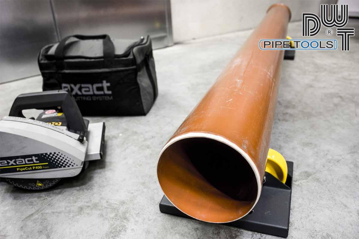 Extrem Kunststoffrohre schneiden | Exact Rohrsägen QB67