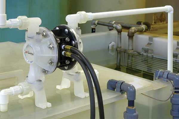 Anwendung ARO Pumpen