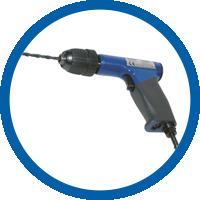 Druckluft Bohrmaschine Typ DP017-040ZB10