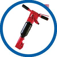 Schwere Drucklufthammer