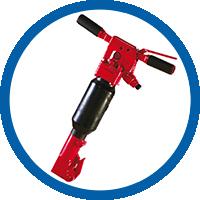 Schwerer Drucklufthammer DW20 V