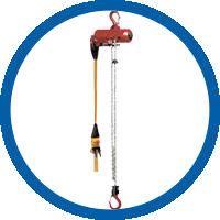 Druckluftkettenzug TCR-250DPE
