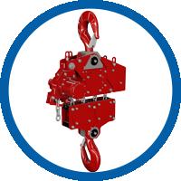 Druckluftkettenzug TNC-75TWP(6)E