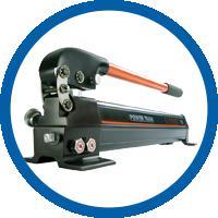 Hydraulik Handpumpe zweistufig einfachwirkend