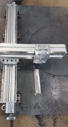 Montage Tragbare Fräsmaschine Schritt 2