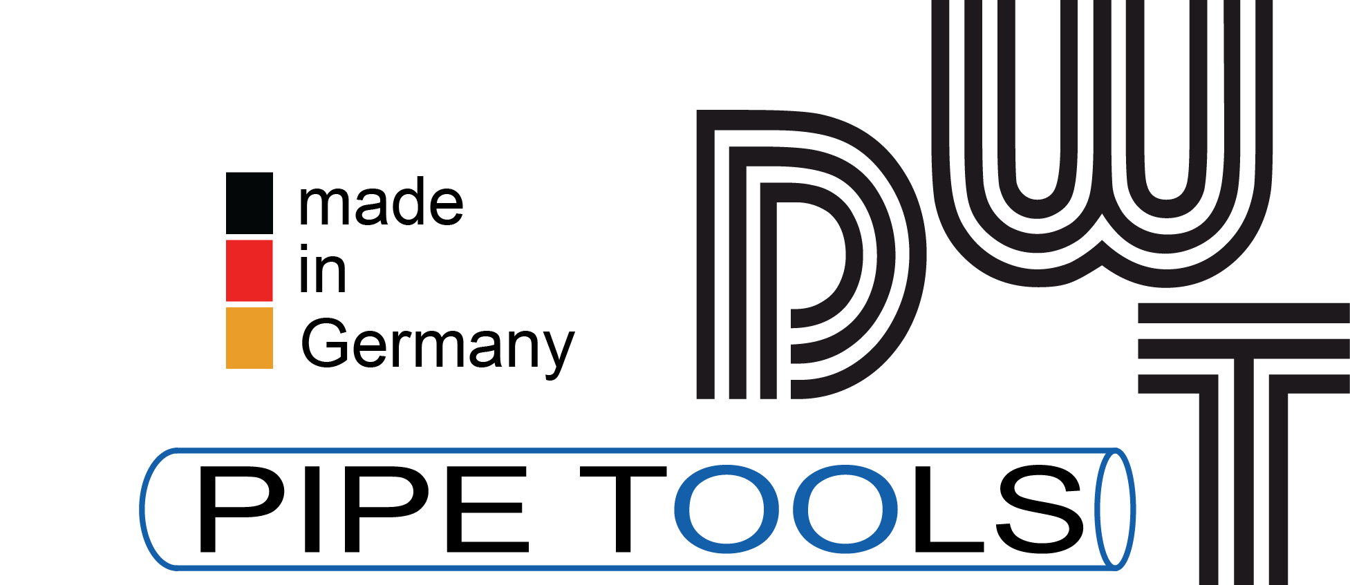 Logo DWT Pipe Tools made in Germany