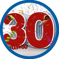 30 jähriges Betriebsjubiläum