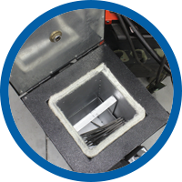 Rücktrocknung Schweißelektroden und Schweißpulver