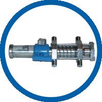Hydraulikzylinder für Rohraußenzentrierung