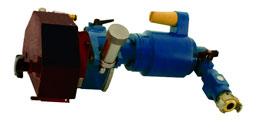 Rohrtrennmaschine Typ CPC - 2 Gang - Druckluft