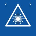 Laserindikator zur Schnittbestimmung