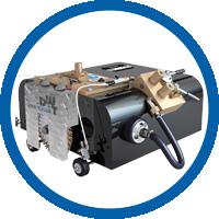 Kettengeführte Rohrtrenn- und Anfasmaschine