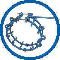 Mechanische Rohraußenzentrierungen